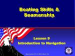 boating skills seamanship