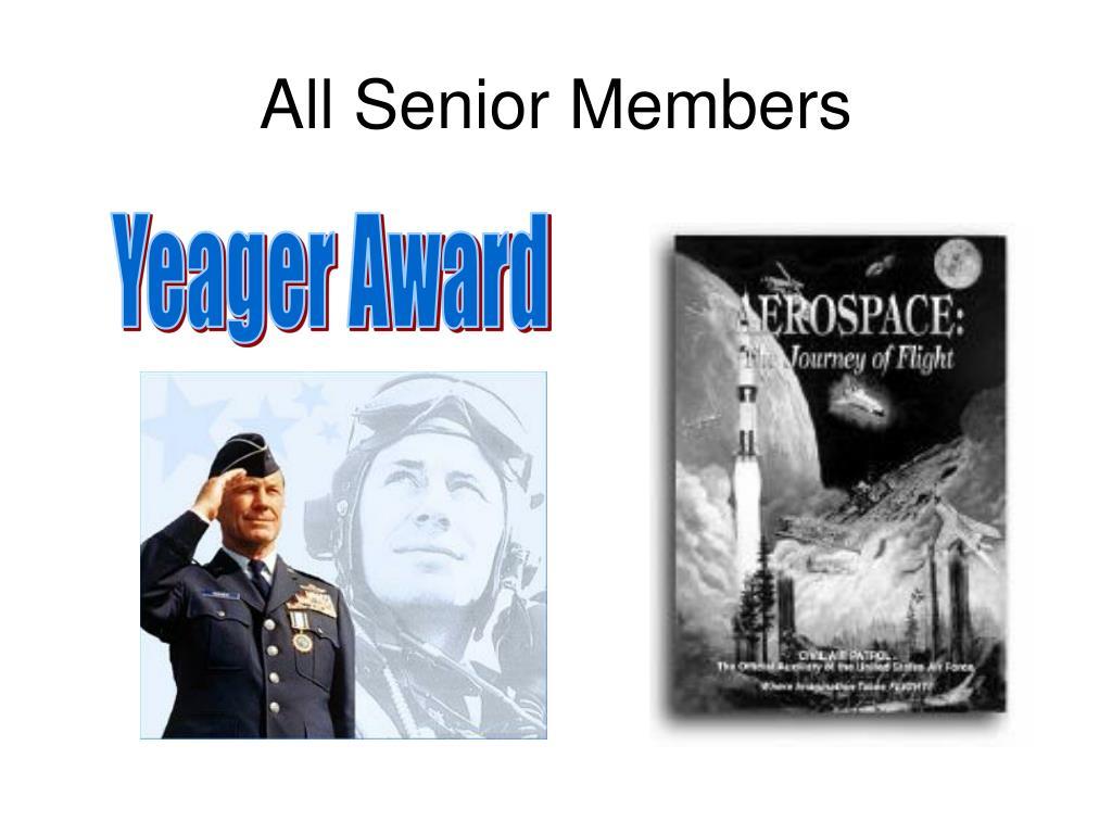 All Senior Members