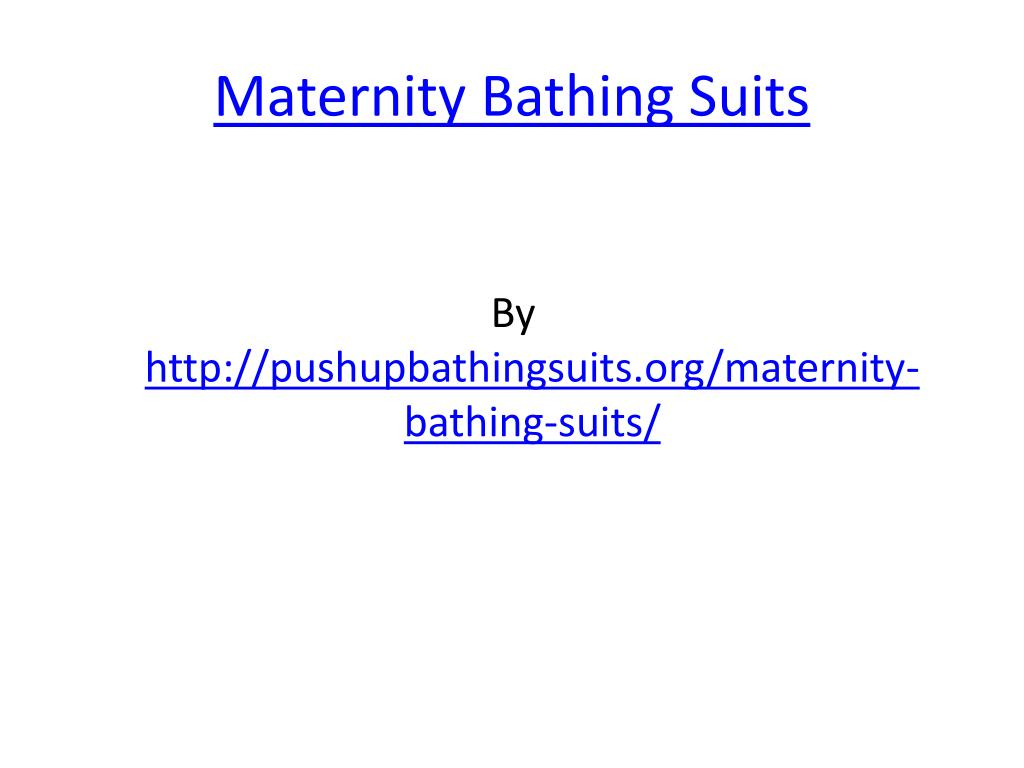 maternity bathing suits l.