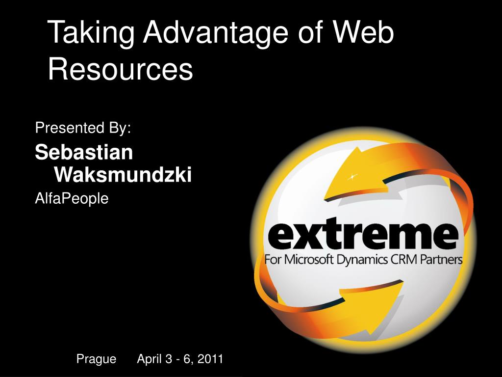 taking advantage of web resources l.