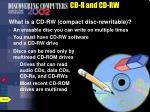 cd r and cd rw53