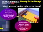 memory versus storage7