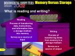 memory versus storage8