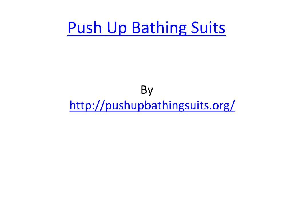 push up bathing suits l.