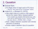 2 causation