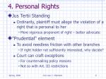 4 personal rights