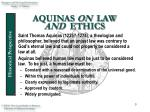 aquinas on law and ethics