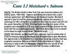 case 1 1 meinhard v salmon