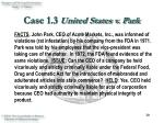 case 1 3 united states v park