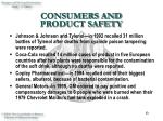 consumers and product safety13
