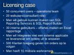 licensing case