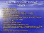 regional community outreach activities4