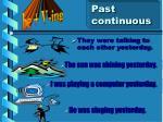 past continuous8