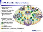 epri smart grid demonstrations