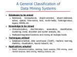 a general classification of data mining systems
