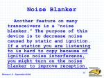 noise blanker