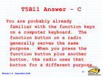 t5b11 answer c