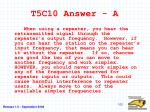 t5c10 answer a