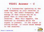 t5d01 answer c