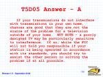 t5d05 answer a