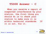 t5d08 answer c