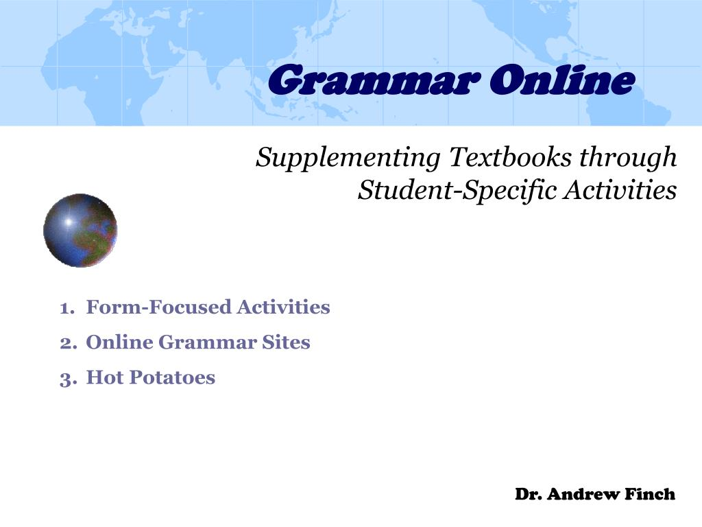 grammar online l.