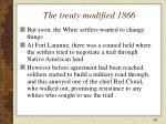 the treaty modified 1866