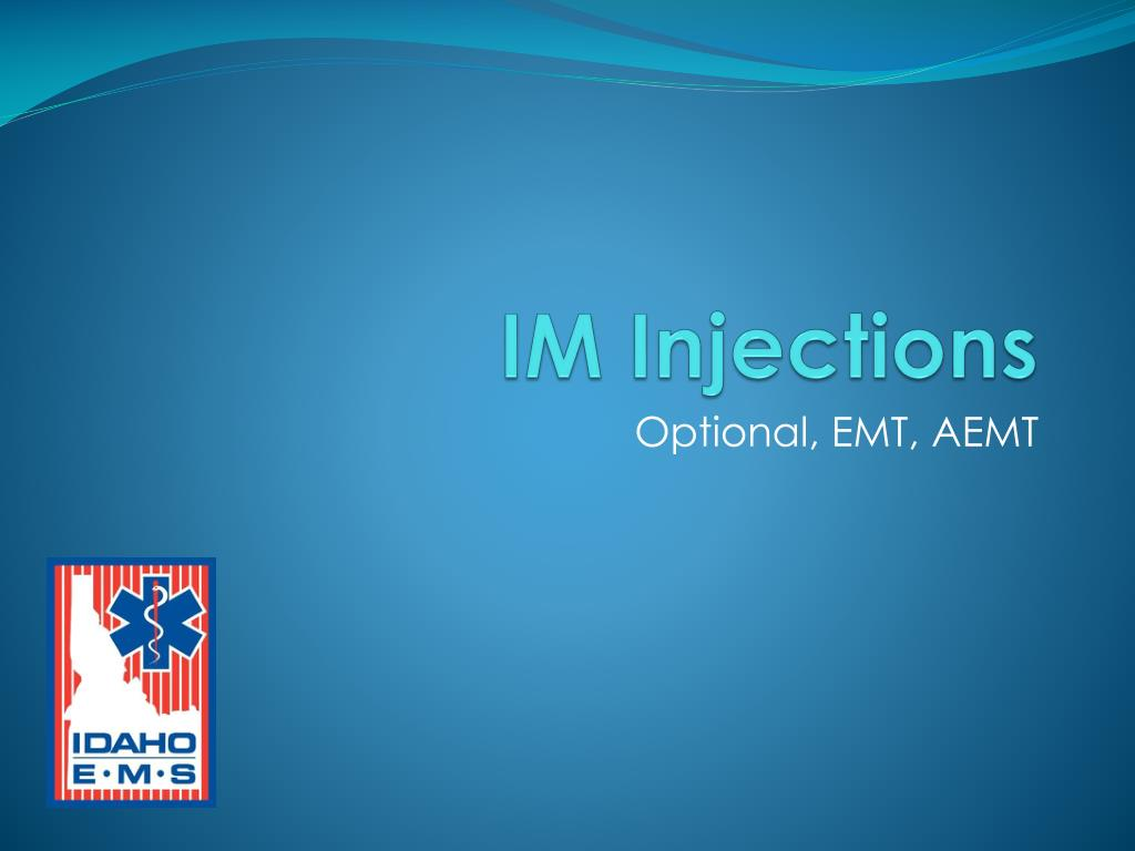 im injections l.