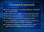 covenant framework