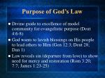 purpose of god s law13