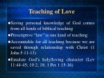 teaching of love7