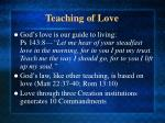 teaching of love8