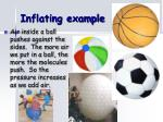 inflating example