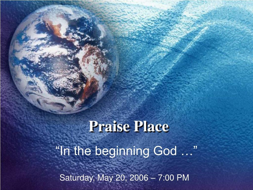praise place l.
