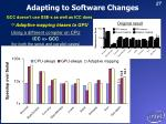 adapting to software changes