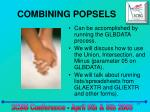 combining popsels