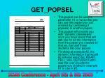 get popsel