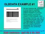 glbdata example 1