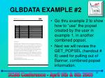 glbdata example 2