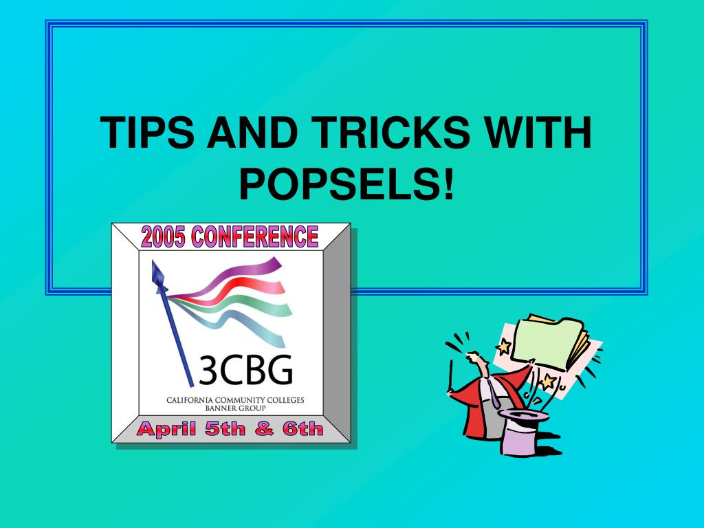 tips and tricks with popsels l.