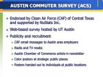 austin commuter survey acs