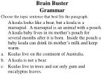 brain buster grammar21