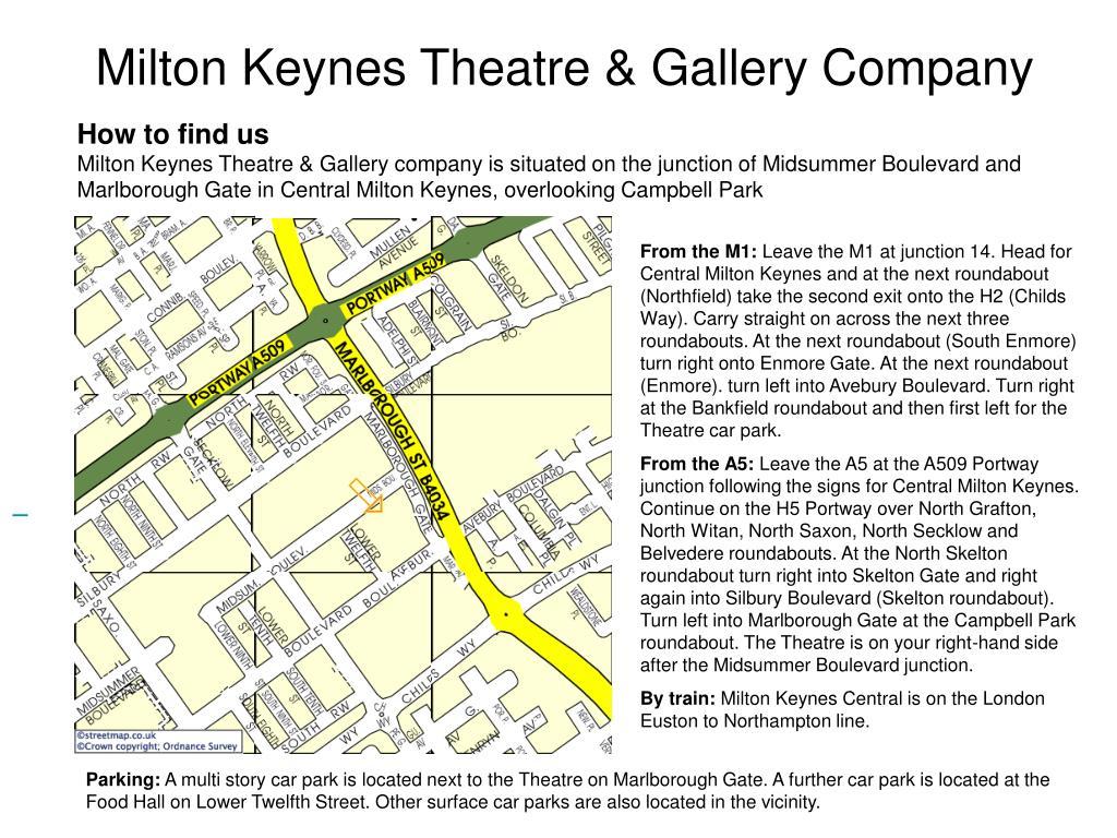 milton keynes theatre gallery company l.