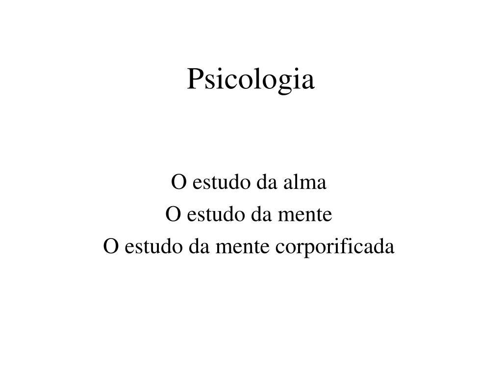 psicologia l.