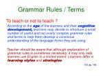 grammar rules terms