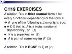 ch19 exercises
