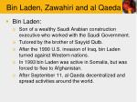 bin laden zawahiri and al qaeda