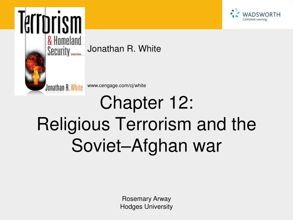 chapter 12 religious terrorism and the soviet afghan war l.