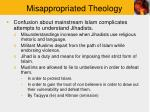 misappropriated theology12