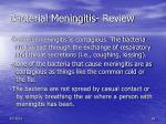 bacterial meningitis review29
